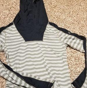 Lululemon Striped Hoodie size 4